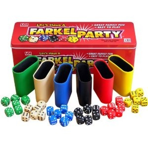 Lucia you may want this for your next party! Farkel Party Game
