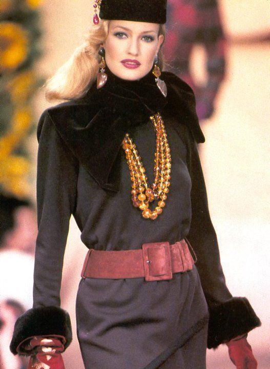 Yves Saint Laurent Fashion show Vintage