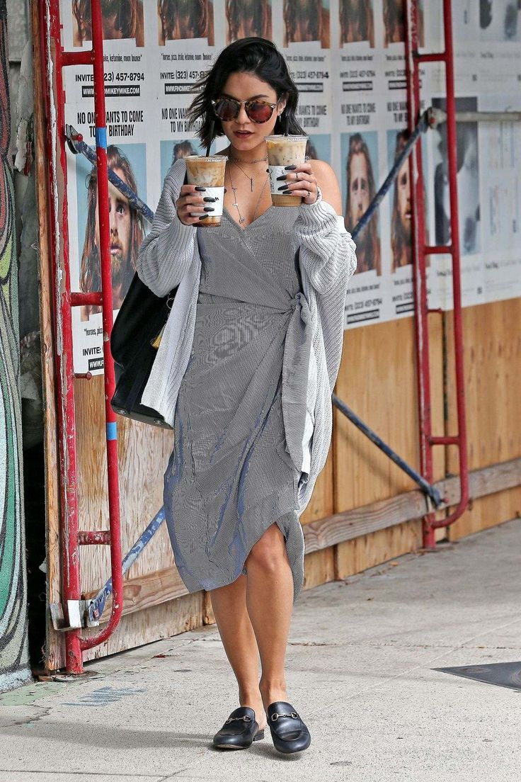 Vanessa Hudgens Out And About In Studio City