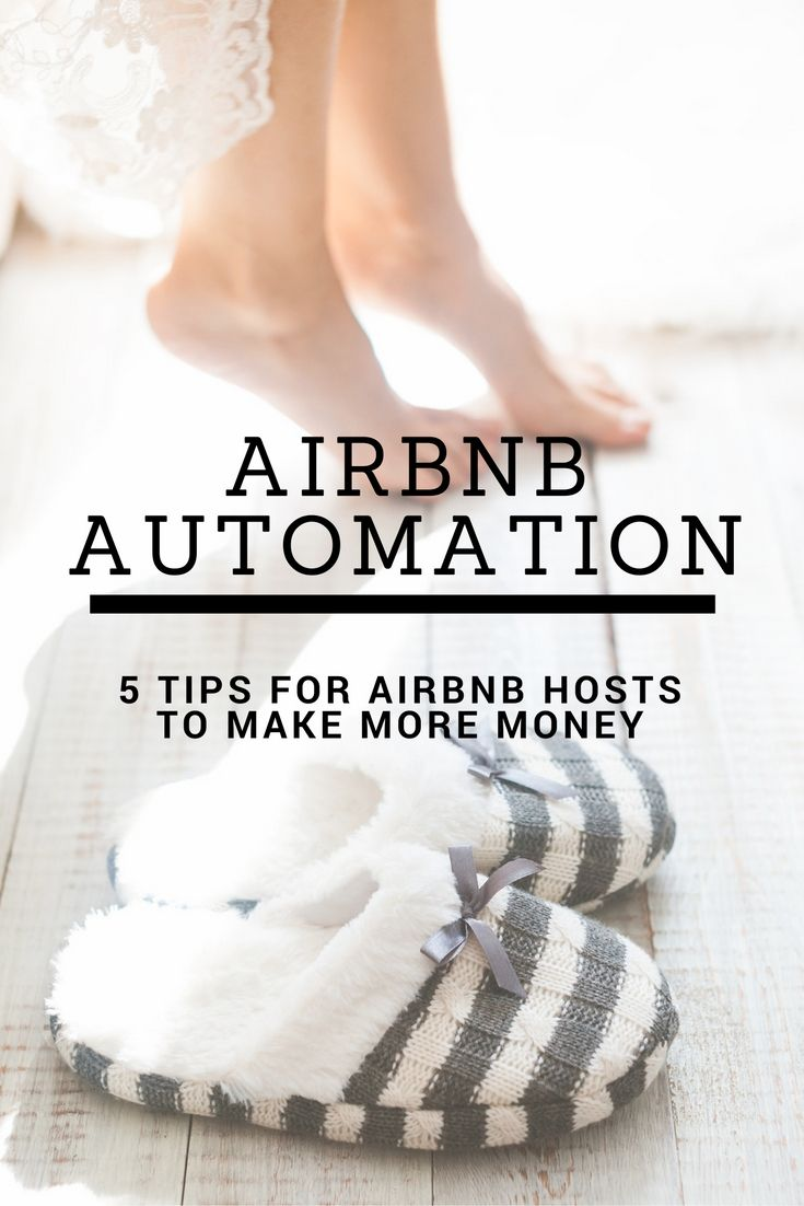 Learn about Airbnb automation with these 5 awesome tips from the Casual Capitalist. Be a better Airbnb host with these automation tips.