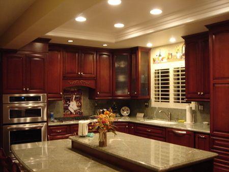 Tray Ceiling, Recessed Lighting, Granite Countertops