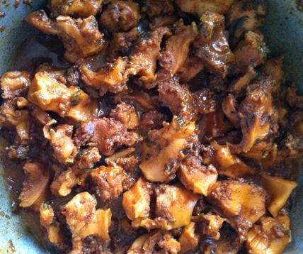 Jamaican stew conch #recipe