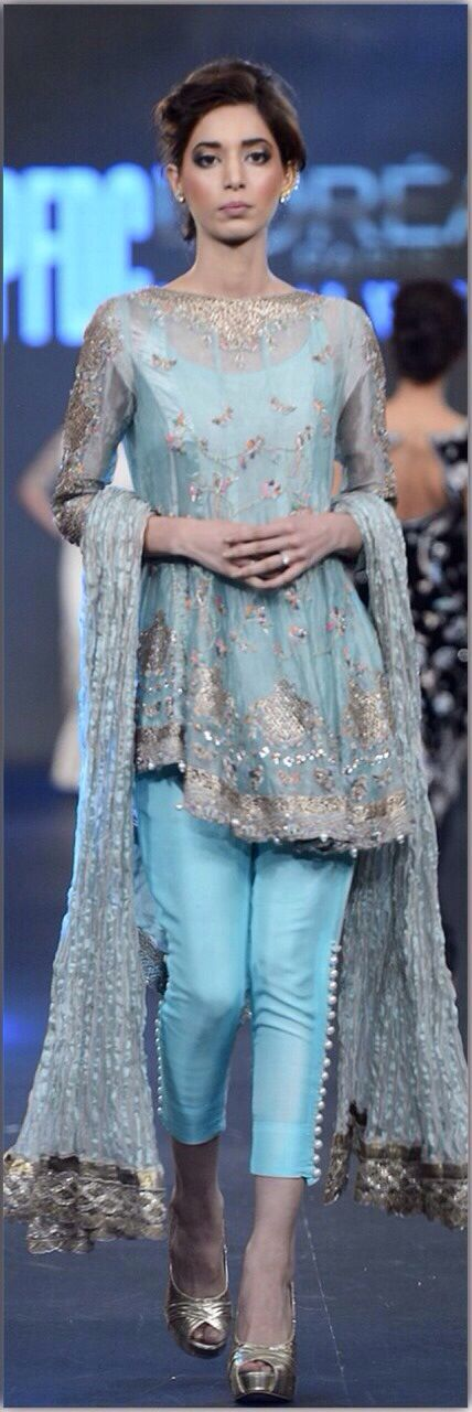 Pakistani wedding wear.