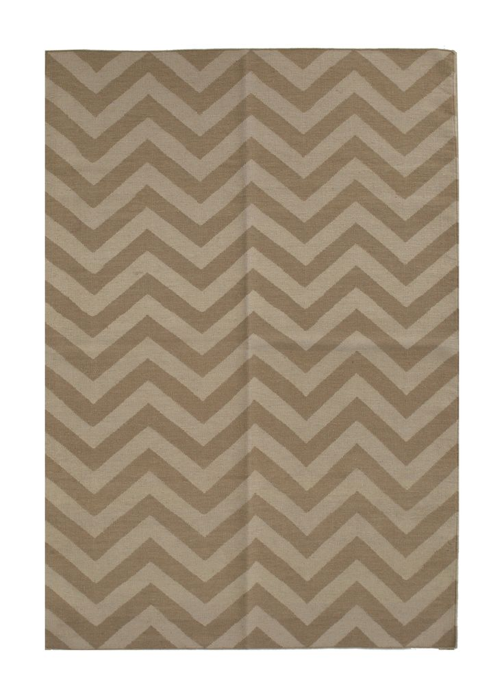 kelim - zag asymmetric - neutral 4.00 x 3.00m Composition Wool on Cotton Hand-woven Flat pile Was R25 920 - 50% Now R 11460