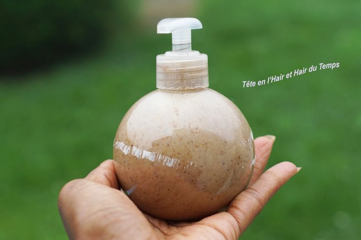 Shampoing fortifiant au rhassoul, shikakaï et lait de coco