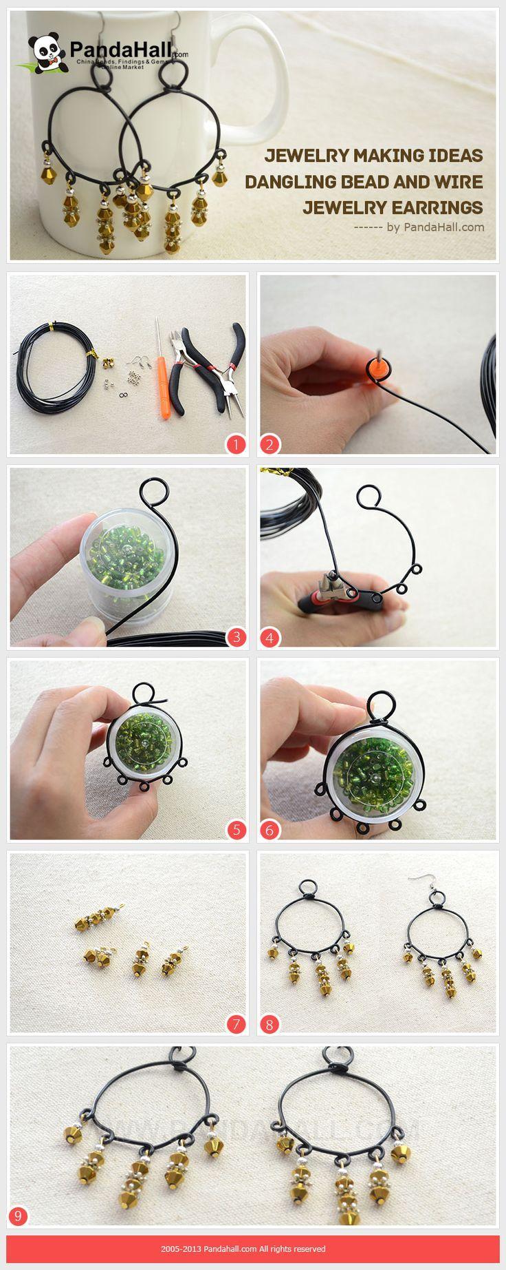 176 best diy images on Pinterest | Wire wrap jewelry, Wire jewelry ...