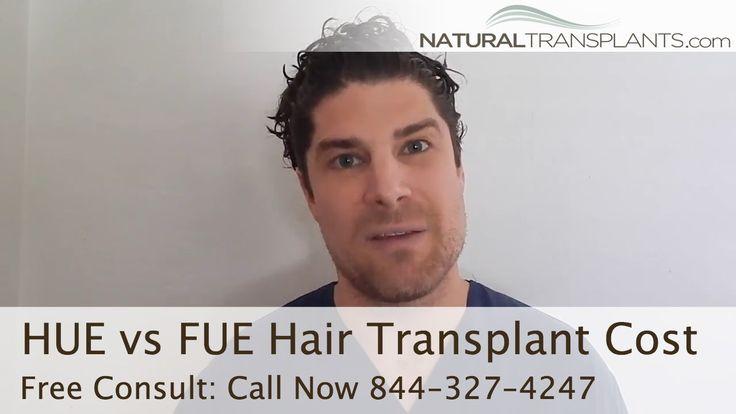 HUE vs FUE Hair Transplant Cost | Hair Restoration Miami