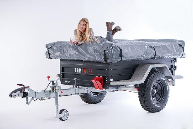 Tenttrailers, vouwwagens en daktenten van Campwerk