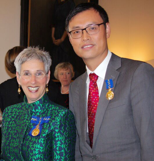 Charles is delighted to receive an Order of Australia Medal in the Queen's Birthday Honours. What a lovely Medal!