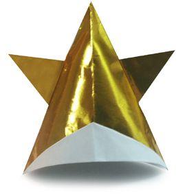 Origami Star Cap