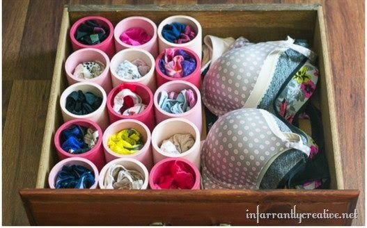 Organize sem Frescuras!: Ideias criativas utilizando canos de PVC