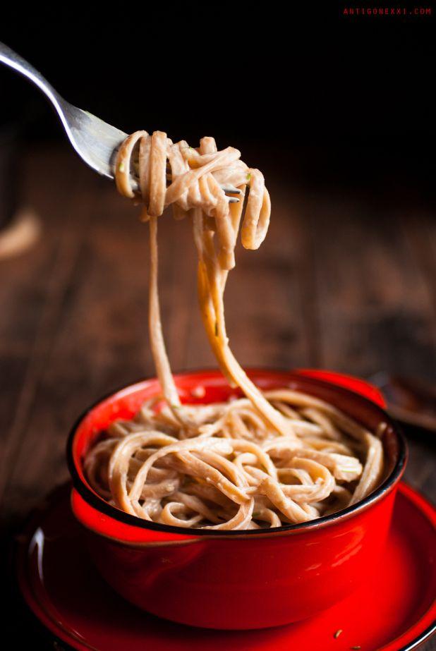 Sauce fromage végane pour les pâtes | Antigone XXI