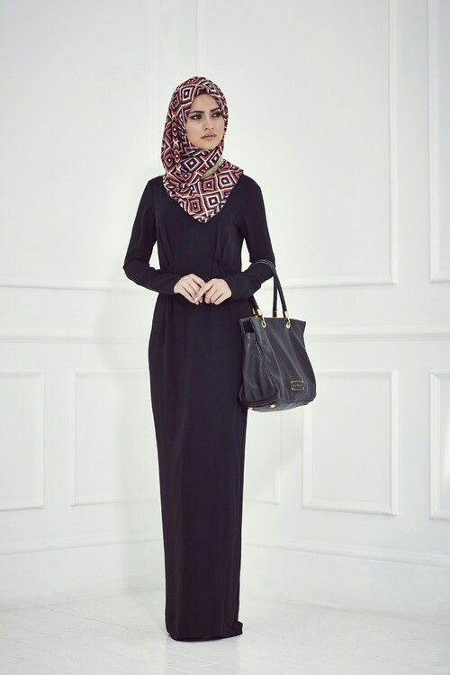simple, elegant, and classy hijab outfit