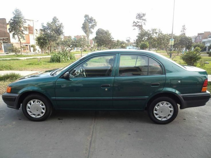 Car #2/Bought new with mom and dad for graduating high school: 1997 Toyota Tercel