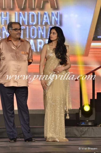 Sridevi and Boney Kapoor at SIIMA Awards | PINKVILLA
