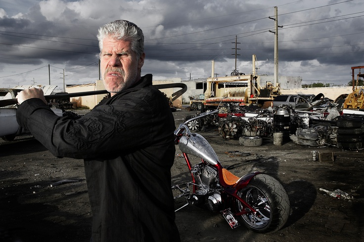 Its Ron Perlman of course. Taken by Me. Peter Langone