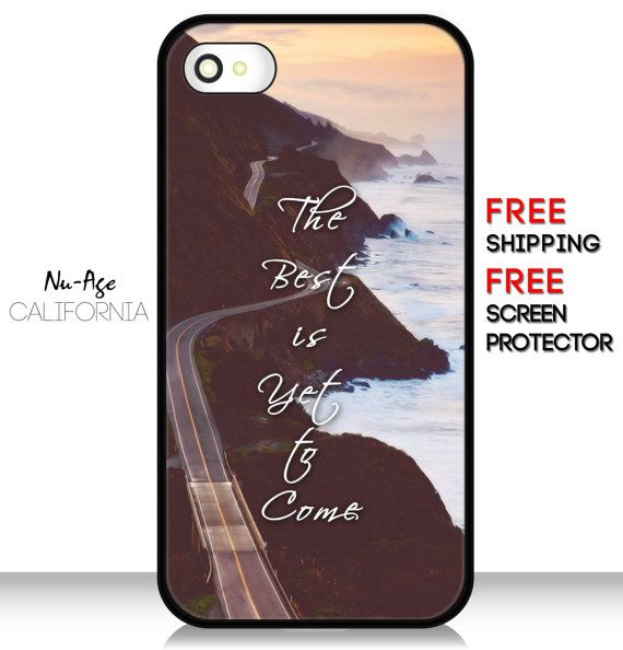 Beautiful IPhone 5C Phone Case The Best Is Yet To by NuAgeProducts, $13.99