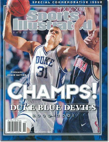 Shane Battier (Sports Illustrated - 2000-2001 NCAA Championship Commemorative Issue)
