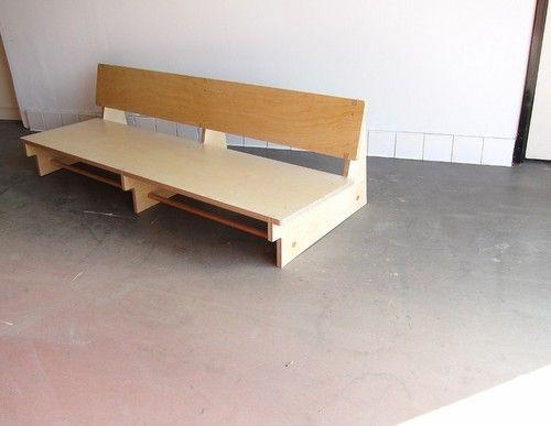 waka waka low rider couch baltic birch plywood - built on commission - more images on site >>>>