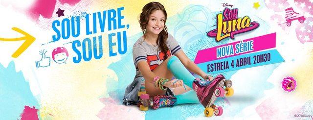 Soy Luna estreia no Disney Channel no dia 4 de Abril às 20h30