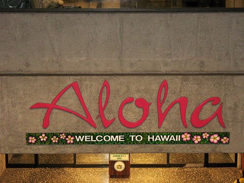 Hawaii: Hawaii States Signs, Honolulu Airports, Aloha Hawaii, Hawaii Signs, Anniversaries Ideas, Welcome Signs, 10Th Anniversaries, Ancestry Hawaii, Travel Usa