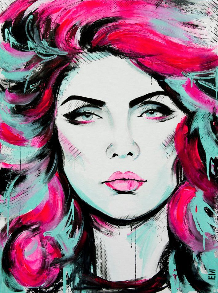 Emma Sheldrake ArtFavorite Artists, Artth Face, Artists Incline, Artists Emma, Amazing Work, Debbie Harry, Amazing Artists, Sheldrake Art, Emma Sheldrake