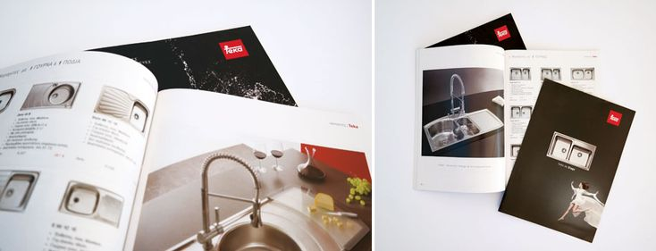 Design of TEKA Hellas's Brochures for Sinks by ThinkBAG