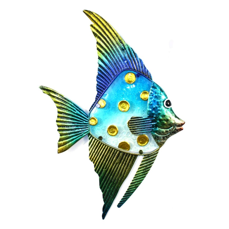 Metal Wall Art Fish metal wall art fish - shenra