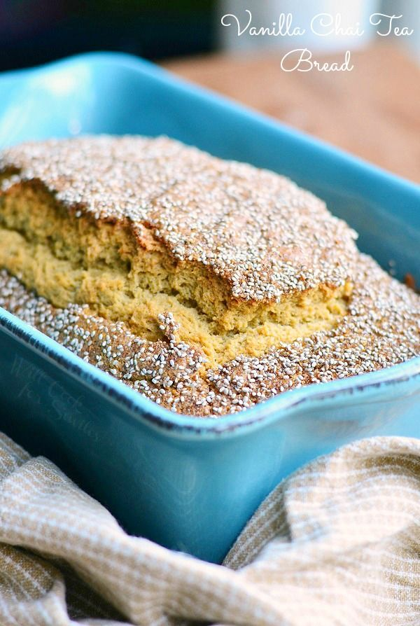 Vanilla Chai Tea Sweet Bread and Meeting The Bigelow Family - Will Cook For Smiles  #BigelowVIP #AmericasTea #shop