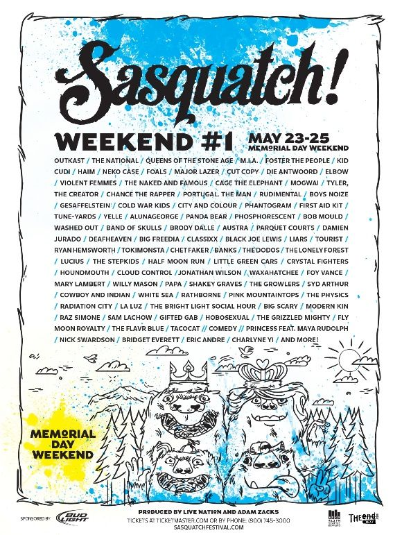 Coachella Lineup Announced! 2014 Festival Calendar | Free People Blog