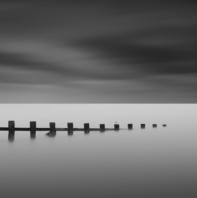 If you are in need of a calm moment during your busy day we highly recommend taking a look at these soothing black and white photographs by gavin dunbar