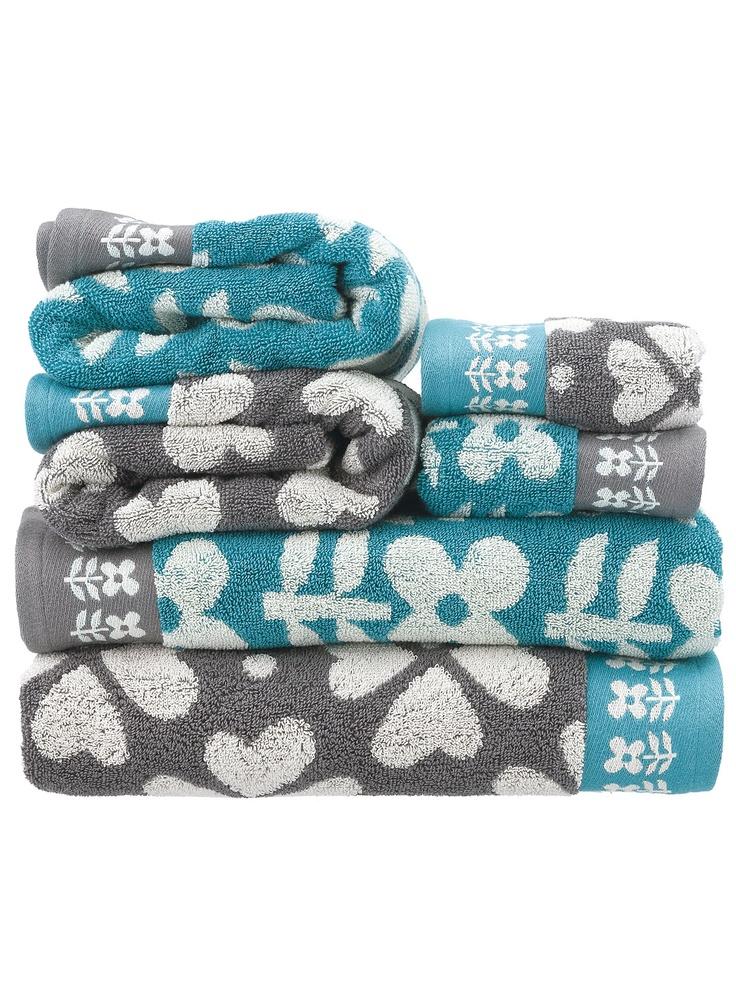 Ik hou van zachte handdoeken die ruiken naar wasmiddel. Heerlijk!