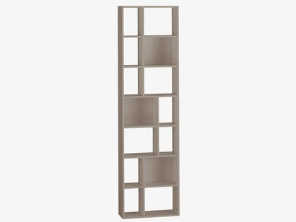 CLEO Grey narrow bookcase