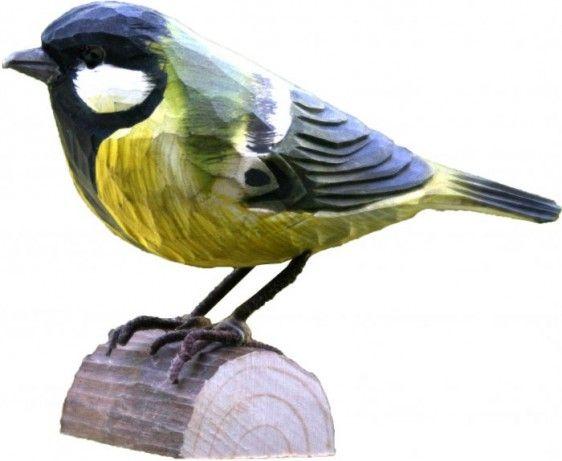 Cinciallegra - Casette per uccelli
