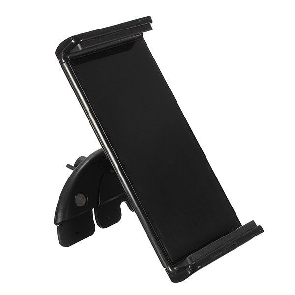 10Inch Adjustable Car CD Slot Mobile Mount Holder Stand For Tablet GPS. 10inch Adjustable Car Cd Slot Mobile Mount Holder Stand For Tablet Gps    features:    1. Made Of High Quality Rigid Plastic, Durable And Strong.  2. Easy To Install And Release On Vehicles Cd Slot -- No Suction Cup, No Sticky Pad Necessary. No Tools Required -- Only One Hand Is Needed To Install Or Release This Mount.  3. Inserted Into Cd Player Loading Port, Where Device Controls Are Easily Accessible By The Driver…