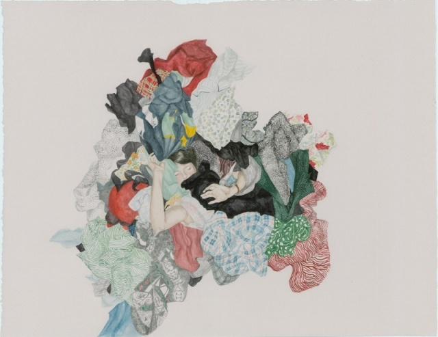 'Drowning' by Monica Rohan, exhibiting at Spiro Grace Art Rooms (SGAR) 14 September — 13 October 2012