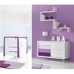 Habitaciones infantiles modernas online. Descubre este conjunto de cunas y cómodas en nuestro Outlet de Muebles Infantiles. ¡Súper oferta!