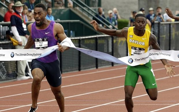 The next Usain Bolt? Trayvon Bromell is the fastest teenager ever | US youngster became the tenth-fastest man of all time this week - and his times are way ahead of all today's sprint greats at the same age
