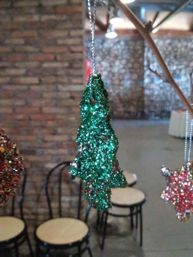 Handmade Christmas Ornament for Christmas Tree made from clay  Πήλινο Χειροποίητο Χριστουγεννιάτικο Στολίδι για το Δέντρο