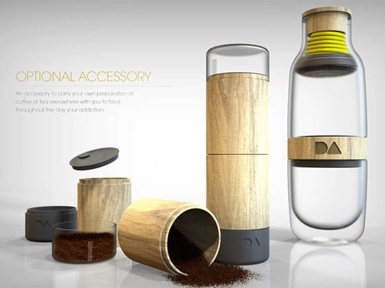 Daily Addiction: a Portable Coffee Maker