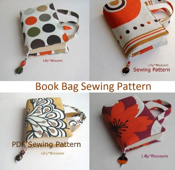 Book Bag Sewing Pattern