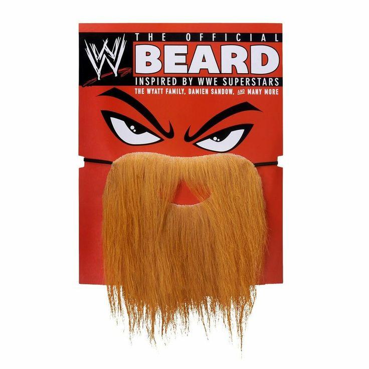 Official WWE Costume Red Beard (Daniel Bryan, Wyatt Family, Damien Sandow, +) #wwe #auction