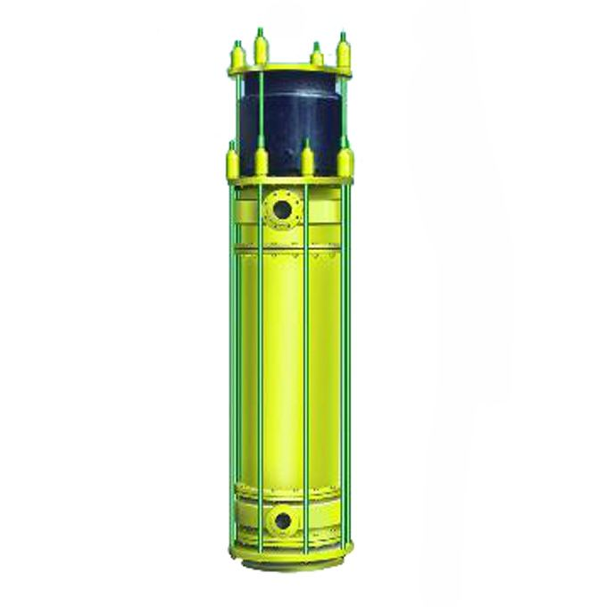 YKch graphite sulfuric acid dilution cooling unit
