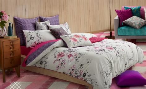 Greta Quilt Cover Set by KAS Australia