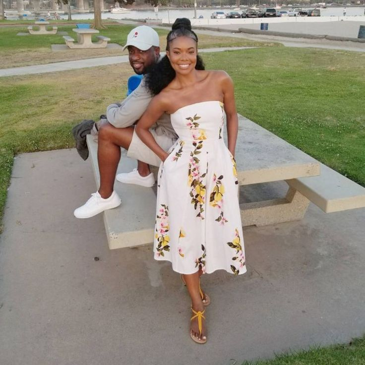 Gabrielle Union is continuing her fashion-forward #WadeWorldTour, but this time in an affordable $63 strapless floral print dress designed by Eva Mendes for New York & Company. Union and her husband, Dwyane Wade have been rocking incredible styles all over the world this summer and documenting the journey via Instagram. While Union often opts for luxury brands, likeBalmainandEllery, we love when she kicks back in something a wee bit more affordable (so we can copy her style).