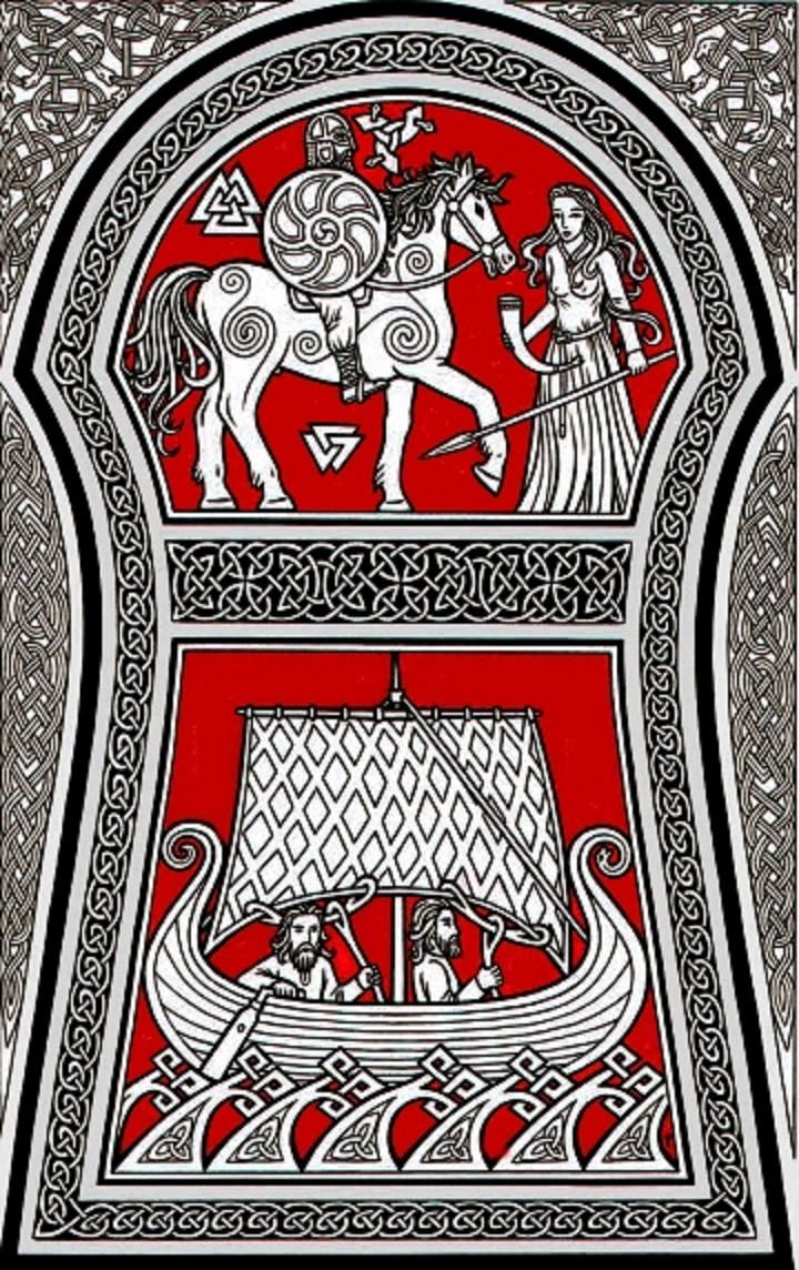 7 best silk banners images on pinterest anglo saxon celtic and deko