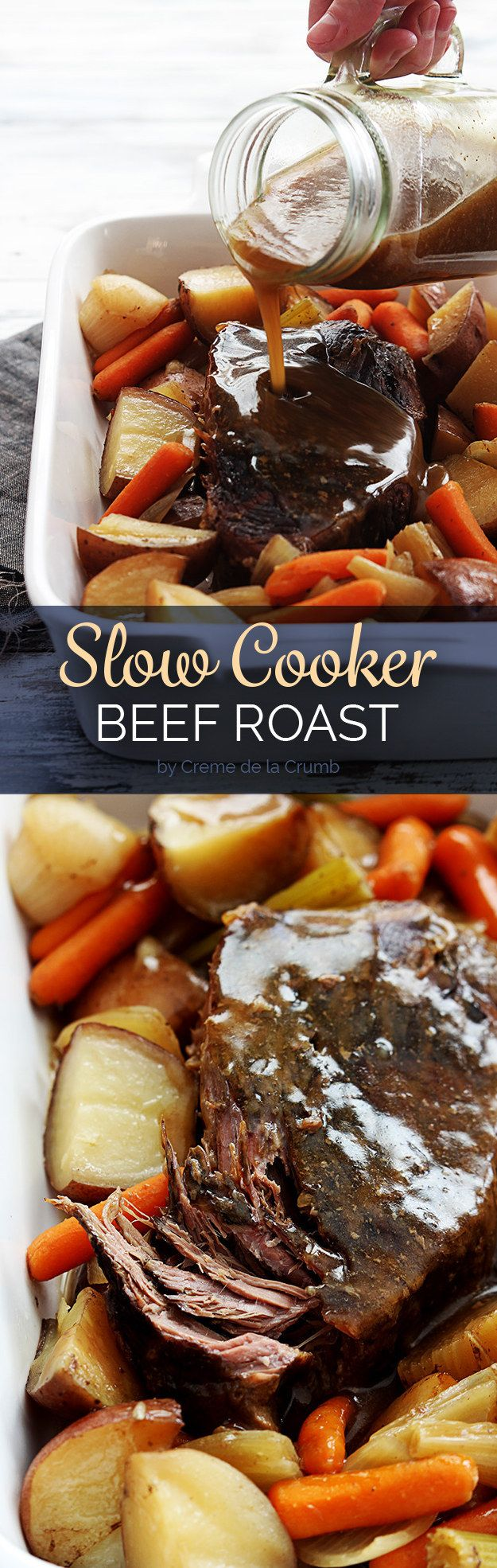 Slow Cooker Beef Roast | 7 Weeknight Fall Dinners That You Can Make Ahead Of Time
