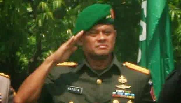 """The Royal Indonesia TV Online: Jenderal TNI Gatot Nurmantyo (KSAD) : """"TNI AD juga akan melakukan pengamanan agar ISIS hilang dan tidak berkembang di Indonesia,"""""""