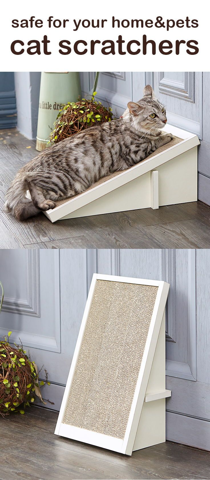 Save Your Furniture With These Beautiful Cat Scratchers Cat Scratchers Cat Training Litter Box Kitten Accessories