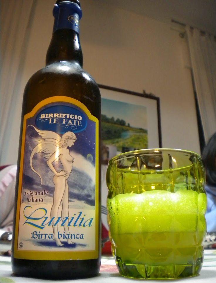 Birra bianca Lunilia, birrificio Le Fate.